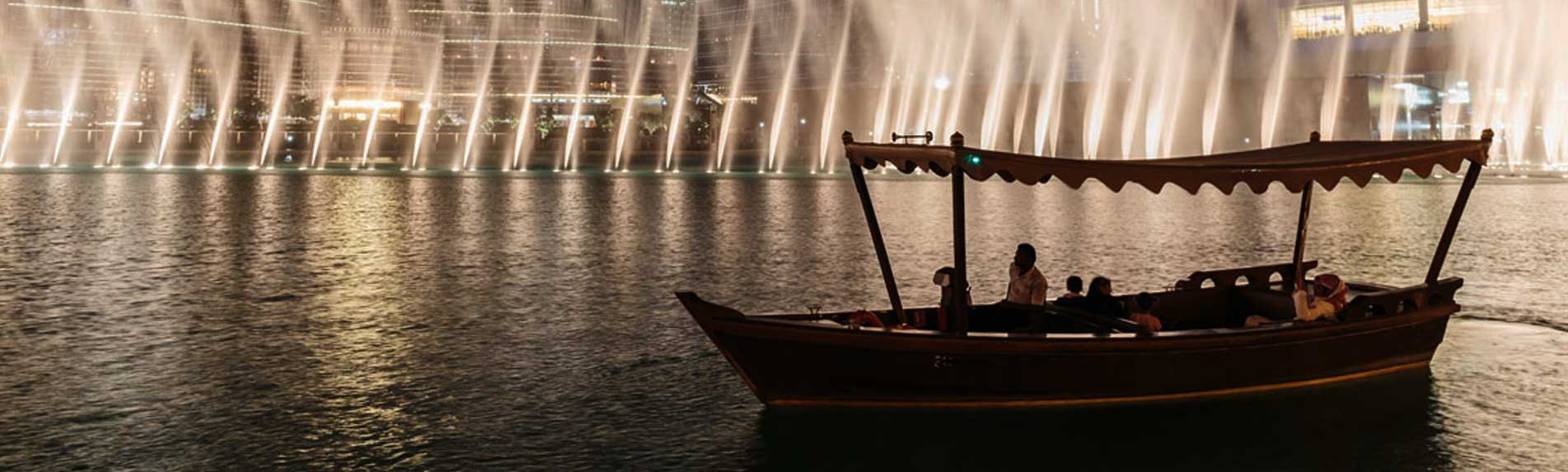 Dubai-Fountain-Lake-Ride-from-Abu-Dhabi
